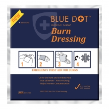BurnStop Sterile Gel Soaked Burn Dressing