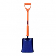 Shocksafe No.2 Square Mouth Treaded Sold Socket Shovel
