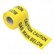 Underground Gas Warning Tape