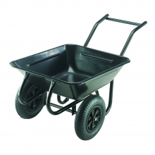 Contractor Twin 142 Litre Pneumatic Tyre Barrow