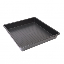 Large Square Deep Plastic Drip Tray