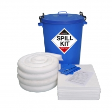 Oil & Fuel Spill Kit - Plastic Drum