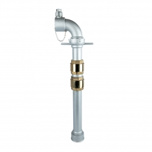 Single Head Fire Hydrant Standpipe with Double Check Valve