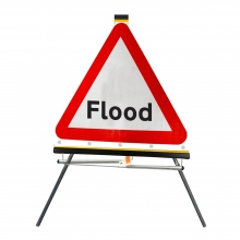 Flood Roll-Up Sign Face (P554)