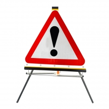 Other Danger Ahead Roll-Up Sign Face (P562)