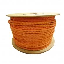 Orange Polypropylene Rope 6mm x 500m