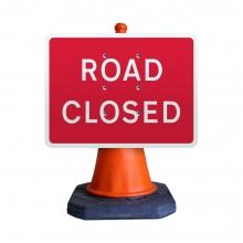 Road Closed Cone Sign (P7010.1)