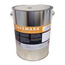 Safemark Green Solvent Based Acrylic Line Paint 6kg