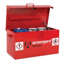 Flambank Fire Resistant Van Storage Box