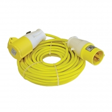 Trailing Lead 110V 16Amp 1.5mm Cable 14m