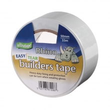 White PVC Builders Tape